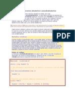 Como generar números aleatorios o pseudoaleatorios
