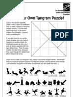 Tangram Puzzle Sheet