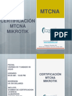 CERTIFICACION MIKROTIK