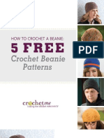 Crochet Me Beanie Patterns