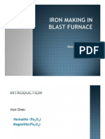 Iron Processing From Blast Furnace