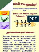 Evaluación de los aprendizajes-EBR-Primaria 2007