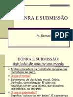 Estudo HONRA E SUBMISSÃO