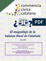 El maquillaje de la balanza fiscal de Cataluña