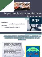 Importancia de La Auditoria en La Sociedad