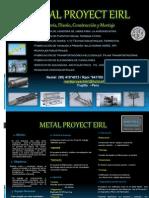 Diapositivas de Metal Proyect Eirl...Presentacion General 2013...II