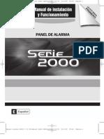 Manual Alarma S2000 (ALTA)