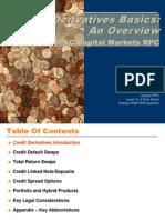 Credit Derivatives Basics 1