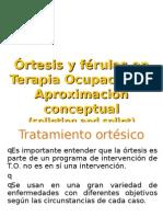 Aproximacion Conceptual en Ortotica