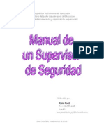 Manual Para Un Supervisor de Seguridad.