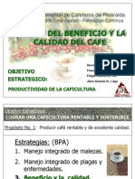 Beneficio y Calidad de Cafe