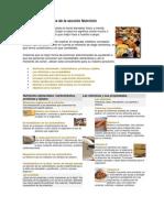 Indice de contenidos de la sección Nutrición