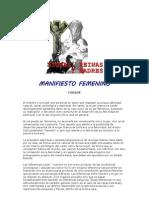 Manifiesto Femenino (Cedade)