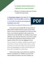Apellidos y migraciones internas en la España cristiana de la Reconquista (II parte de Apellidos a lo largo de...)