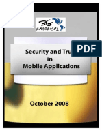 3G Americas Security and Trust in Mobile Applications October 2008