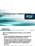 2934234 34 Configuring a Catalyst Switch