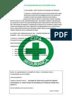 REQUERIMENTO DE USO DE ESPAÇO À COORDENADORIA DO SENAC.