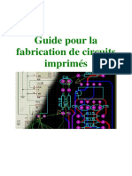 Guide Pour La Fabrication de Circuits Imprimes