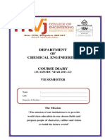 CoursedairyVII Sem