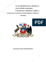 Estrategia de Seg - Def 2012 -2014 de Chile
