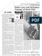 Robin Lacy and DeZydeco Tuesday at North Park