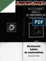 Diccionario de Matematicas ANAYA