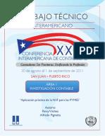 Aplicacion Practica NIIF- PERU-URU