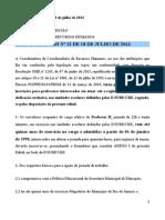 Edital E-SUBG-CRH 12-Inscricoes PII Passar de 22h Para 40h(1)