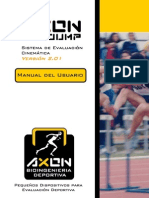 Manual Del Usuario Axon Jump ES