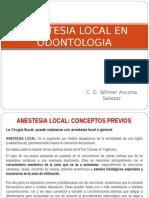 ANESTESIA LOCAL EN ODONTOLOGIA.ppt