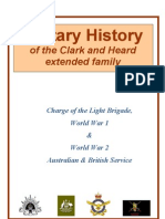Military History of extended Clark and Heard family in Australia and England