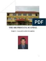 THE SRI PRISTANA SCANDAL
