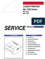 Samsung ML1710 Service Manual