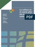 Cultura Cuarto Pilar Desarrollo Sostenible Spa