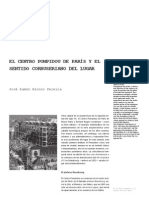 04 El Centro Pompidou de Paris y El Sentido Corbuseriano Del Lugar Jose Ramon Alonso Pereira