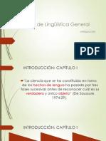 Introducción Curso de Lingüística General sesión 2