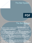 Bail System Powerpoint