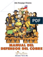 Manual del Defensor del Cobre / Julián Alcayaga (2005)