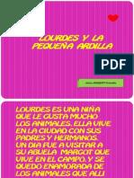 LOURDES Y LA PEQUEÑA ARDILLA