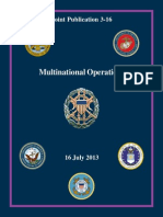 JP 3-16 Multinational Operations (2013) uploaded by Richard J. Campbell