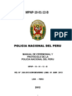 Manual Ceremonial y Protocolo -2013