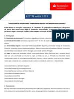 Bolsas Ibero Americanas 2013