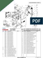 Philips Saeco Exprelia Parts Diagram