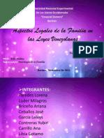 Aspectos Legales de la Familia en las Leyes.ppt