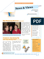 2009 TLE Newsletter Spring Summer Edition