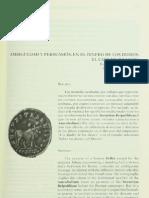 Marco Simón sobre la moneda de Juliano