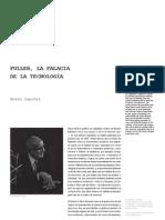 11 Fuller La Falacia de La Tecnologia Anton Capitel