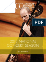 Beethoven9 Program Website