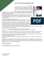 The Secretary of US Embassy Exposed PMOI Leadership