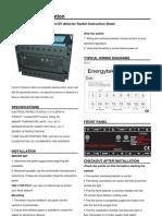 Energytek Flame Switch Catalog